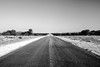 Straight Ahead (mrpase) Tags: africa road bw landscape photography blackwhite 1750 namibia sonyalpha550