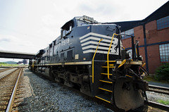 Norfolk Southern SD70, Bethlehem PA (www.johntomaiphotography.com) Tags: abandoned industry architecture train foundry site ruins industrial factory steel trains historical locomotive bethlehem bethlehemsteel norfolksouthern sd70 sd70m jpt145