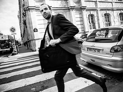 running man (mouzhik) Tags: street paris canon strada noiretblanc streetphotography rua rue parijs pars zemzem  runningman photoderue muzhik pary mujik parys  ulica caille   pariisi strase   photographiederue  parizo moujik fotografiadistrada fotoderua strasenfotografie  mouzhik      pars y  prizs y