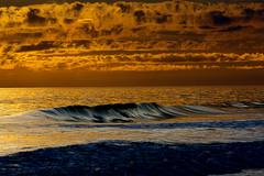 golden hour weather over the Atlantic ~ Southern Outer Banks (j van cise photos) Tags: ocean beach weather island waves northcarolina atlanticocean goldenhour waterscape sobx southernouterbanks crystalcoast boguebanks pineknollshores afsnikkor70200mmf28gedvrii continentalunitedstates nikond7100 pressltoenlarge