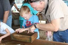 IMG_7289 (drjeeeol) Tags: vacation nc asheville northcarolina grandpa mining charlie conference triplets gem 2014 5yearsold norrthcarolina