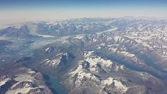 Flying over Greenland (Bernt Rostad) Tags: ice glacier greenland iceberg