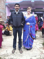 Myself & Yunesh (The Advocacy Project) Tags: nepal camp people nature rural project justice women asia peace social womens medical health human rights medicine care fellowship fellows prolapse advocacy uterine