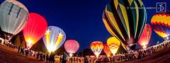 "The ""glow""! (DinsPhoto) Tags: hotairballoons balloonfestival balloonrally seymourballoonfestival"
