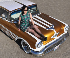 "1956 Oldsmobile Photo Shoot • <a style=""font-size:0.8em;"" href=""http://www.flickr.com/photos/85572005@N00/14872000233/"" target=""_blank"">View on Flickr</a>"