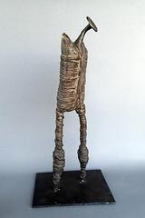 Bronze by Hazem El Mestikawy (b. 1965, Cairo) (heritagefutures) Tags: bronze el international cairo egyptian 1998 seventh hm biennale tough 1965 unidentified hazem tg1   ympus   mestikawy