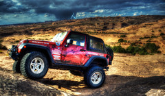 Twisted (tommy.yanks) Tags: utah jeep trail moab slickrock wrangler rubicon hellsrevenge