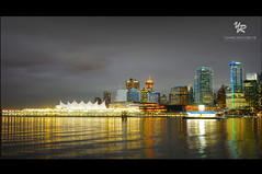 A peacefull night in Vancouver - CANADA (Yannick-R) Tags: city canada night vancouver bc columbia british ville yannick peacefull rivoire a