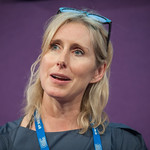 Lauren Child at the Edinburgh International Book Festival