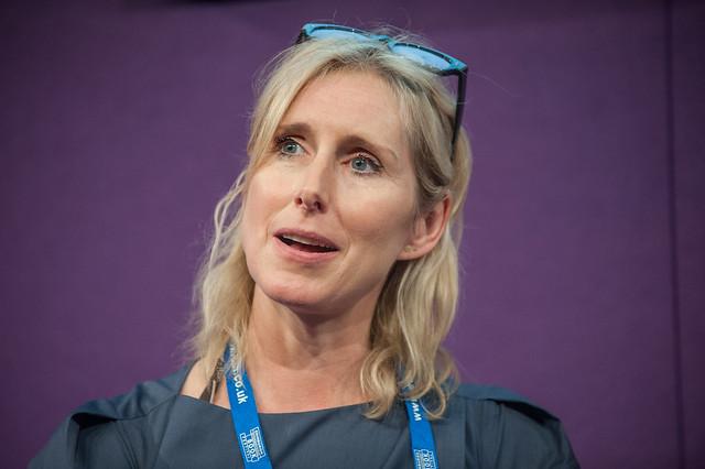 Lauren Child at the Edinburgh International Book Festival