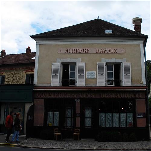 12 - Auvers-sur-Oise Auberge Ravoux Façade