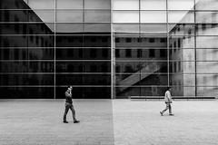 "258/365 "" Universos paralelos / Parallel universes "" (j.borras) Tags: barcelona summer blackandwhite bw white abstract black nikon centre gothic bcn quarter concept universe parallel cultura cccb j3 contempornia project365"