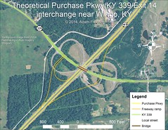 purchase-ky339 (ajfroggie) Tags: map kentucky gis freeway interchange wingo i69 gravescounty ky339 purchasepkwy