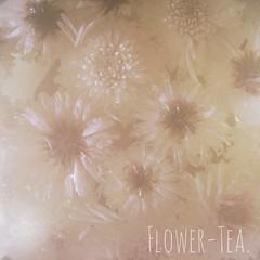 Flower-Tea. | Blüten-Tee.  #morning #tea #tee #enjoy #day  #flower #blüte