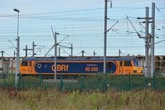 """92032 'IMechE Railway Division"""" GBRf Calais Frethun 19.08.14"""