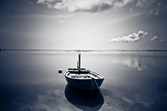 calmness of a day lighted B/W (Prof EuLOGist) Tags: sea bw boat blackwhite calm maldives haa atoll jinan hussain alif bokura filladhoo profeulogist