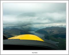 G-MDJE, Pilot's Eye View up Loch Lomond (flatfoot471) Tags: rural landscape scotland aircraft flight aerial caravan benlomond ptarmigan lochlomond cessna civilian stirlingshire benlui benarthur thecobbler rowardennan benvorlich argyllbute sallochybay millarochybay