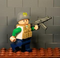 Sig-Fig PMC Operator (flyintheaer) Tags: lego military minifigure sigfig brickarms legomilitary tacticalvest ak74u