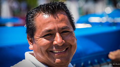2014 - Mexico - Huatulco - Water Taxi  Owner (Ted's photos - For Me & You) Tags: vacation portrait people man male smile face smiling pose mexico nose nikon teeth posing vignetting huatulco d600 huatulcomexico tedsphotos nikonfx natgeofacesoftheworld d600fx