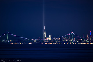 9/11 Tribute in Light [EXPLORED]