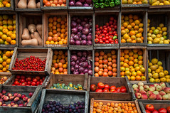 Mom was Right (departing(YYZ)) Tags: street travel food orange green apple southamerica fruit tomato pepper uruguay stand healthy market plum sigma vegetable fresh eat squash vendor produce local hungry onion montevideo crate ripe sudamerica