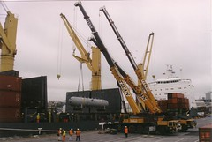2 x AC615 and AC300 (Titan Cranes NZ) Tags: new crane cranes zealand titan lifting terex demag ac615 ac300