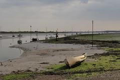 Low tide at Emsworth. (richard evea) Tags: england boats lowtide emsworth