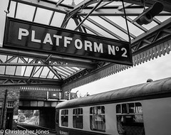 Loughborough (C.P.JonesPhotography) Tags: br platform trains railways loughborough quorn greatcentralrailway gcr preservedrailways christopherjones