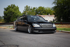 ls430-2 (BrownMan.KM) Tags: vw work bug nissan lift oz air wheels performance bmw ssr a4 audi lowered a6 lexus 240sx slammed airlift bagged ls430 airride ssrwheels rotiform accuair airsociety