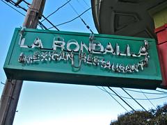 La Rondalla, San Francisco, CA (Robby Virus) Tags: sanfrancisco california people food sign restaurant neon mexican crowded larondalla