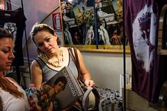 (Jack Simon) Tags: light rome women bookstore caravaggio borghese