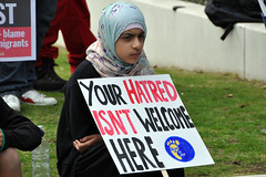"""Stand Up To UKIP: Doncaster - 27/09/14 (Tim Dennell) Tags: demo demonstration racism equality islamophobia doncaster 2014 ukip fairness """"antiracist"""" """"standuptoukip"""" """"rightwing"""" """"antifascist"""""""