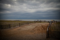 I n t o t h e C l o u d s (Chris Robinson Photography) Tags: vacation weather clouds cool sand nj beaches boardwalk thebeach 2014 perfectexposure oceancitynewjersey canonef24105mmf4lisusm atthebeath