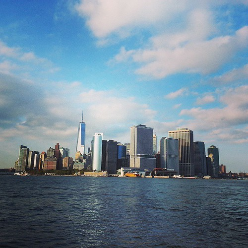 #nyc #harbour 4th annual #regatta at #GovernorsIsland #nycskyline #libertytower