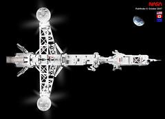 Pathfinder 4: SHIPtember Poster Shot (halfbeak) Tags: lego space nasa esa hadfield canadarm resnik pathfinder4 shiptember