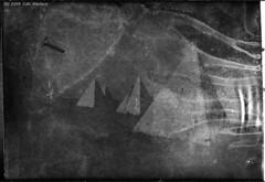 Pyramids of Port Kembla (1913 expired Kodak 6x9cm Premo Film) (Vintage expired film photographer) Tags: bw film kodak pack expired non curling 1913 premo 6x9cm