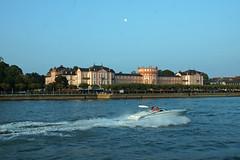 Schloss Biebrich (honeylotus) Tags: germany deutschland boat speedboat palace rhine biebrich schlossbiebrich