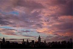 Pink Sky (Chris Protopapas) Tags: newyorkcity pink sunset sky architecture clouds pentax pentaxk10d smcpda1855mmf3556 justpentax pentaxart visipix