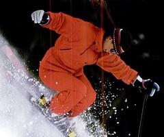 6364586362 (onesieworld) Tags: snow ski fashion one shiny retro suit 80s piece nylon 90s catsuit onesie kink