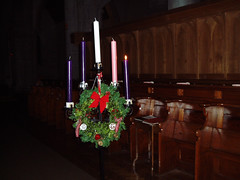 "Advent Wreath • <a style=""font-size:0.8em;"" href=""http://www.flickr.com/photos/134119275@N07/18237622743/"" target=""_blank"">View on Flickr</a>"