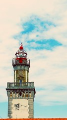 LIGHTHOUSE IN BASQUE COUNTRY (Arima Zuria) Tags: lighthouse faro basquecountry paisvasco hondarribia