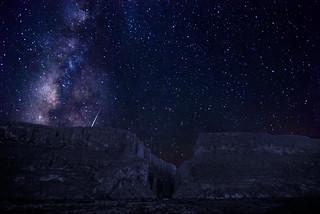 Santa Elena Canyon in the Stars