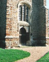 Gamlingay.  March 2000 (Cynthia of Harborough) Tags: 2000 architecture art churches entrances