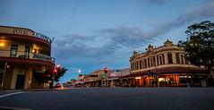 Argent Street at Dusk (Serendigity) Tags: outback historic street australia roadtrip city nsw brokenhill newsouthwales mining dusk