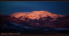 First Light on Bennett Peak (ctofcsco) Tags: 1250 350mm 56 5d 5dclassic 5dmark1 5dmarki black blue canon co colorado ef353503556lusm ef35350mm ef35350mmf3556lusm eos5d esplora 2017 alamosa explore explored geo:lat=3745997671 geo:lon=10614014486 geotagged image landscape migration montevista montevistanwr nationalwildliferefuge nature northamerica photograph picture sanluisvalley sandhillcranefestival spring wildlife wwwmvcranefestorg zinzer orange photo pic pretty renown rockymountains sanjuanmountains snow snowcapped superzoom telephoto unitedstates usa white