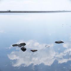 川 (23fumi@fuyunofumi) Tags: ilce7m2 sony 50mm e50mmf18oss sel50f18 reflection river water miyazaki α7ii a7ii square 川 水 反射 ソニー