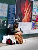 Fifth Avenue 3:41PM -0023-April 01, 2017 (Scott Yeckes) Tags: birds nyc newyork newyorkstory people sad unfortunate calm cityscape downandout feedingthebirds fifthave fifthavenue generosity homless irony manhattan mysterious onlyinnewyork pigeons sadness sadstory streetphotography unique unusual