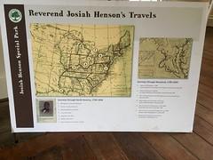 Josiah Henson's Travels - Interpretive Panel (Montgomery Parks, MNCPPC) Tags: josiah hensons travels interpretive panel black history month february winter floor room house
