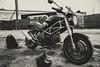 Ducati monster (fabrizio del prete) Tags: ducatimonster600motociclistamotodark carburatore