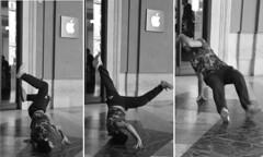 Street dance (carlogalletti) Tags: firenze italy italia ballerini strada dancers street monocromo